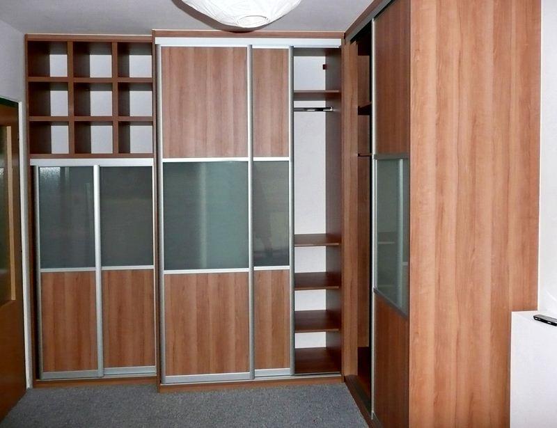 Vestavěné skříně - materiály a vzhled - Obrázek č. 7
