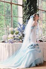 modrá nevěsta
