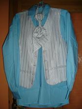 ženichova košile s vestičkou