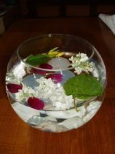 zkouška květinové výzdoby
