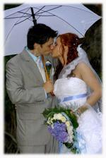 ale aspoň jsme využili deštníky:)