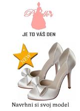 svadobné topánky