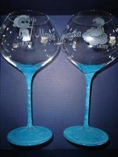 svadobné poháre netradične
