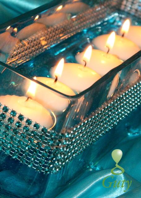 Niečo pre inšpiráciu pre budúce nevestičky... - sviečky