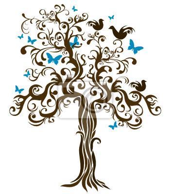 Niečo pre inšpiráciu pre budúce nevestičky... - svadobný strom