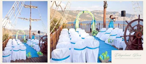 netradičná svadba na lodi