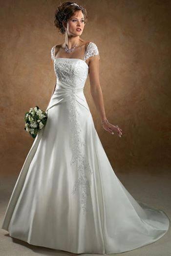 Niečo pre inšpiráciu pre budúce nevestičky... - svadobné šaty