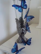 svadobná výzdoba vázy