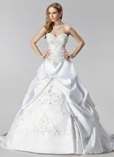 svadobné šaty zo zahraničia-foto z predu