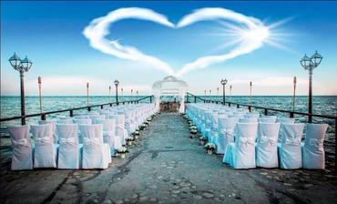 svadobný obrad na pláži