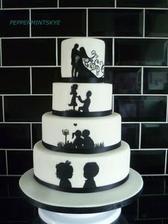 svadobná tortička..ako to s nami bolo...