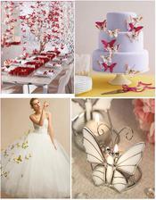 dekorácie + svadobné šaty