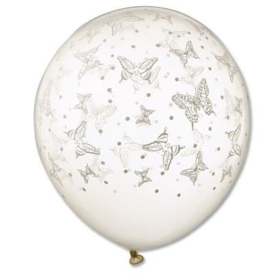 Svadba inšpirovaná krásou motýľov - balón