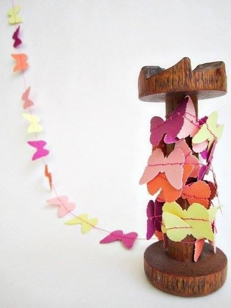 Svadba inšpirovaná krásou motýľov - výzdoba