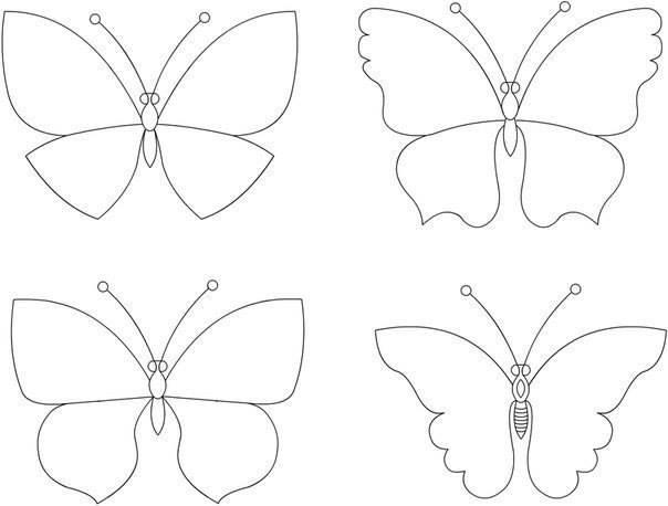Svadba inšpirovaná krásou motýľov - šablóna