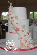 svadobná torta samozrejme farba by bola iná