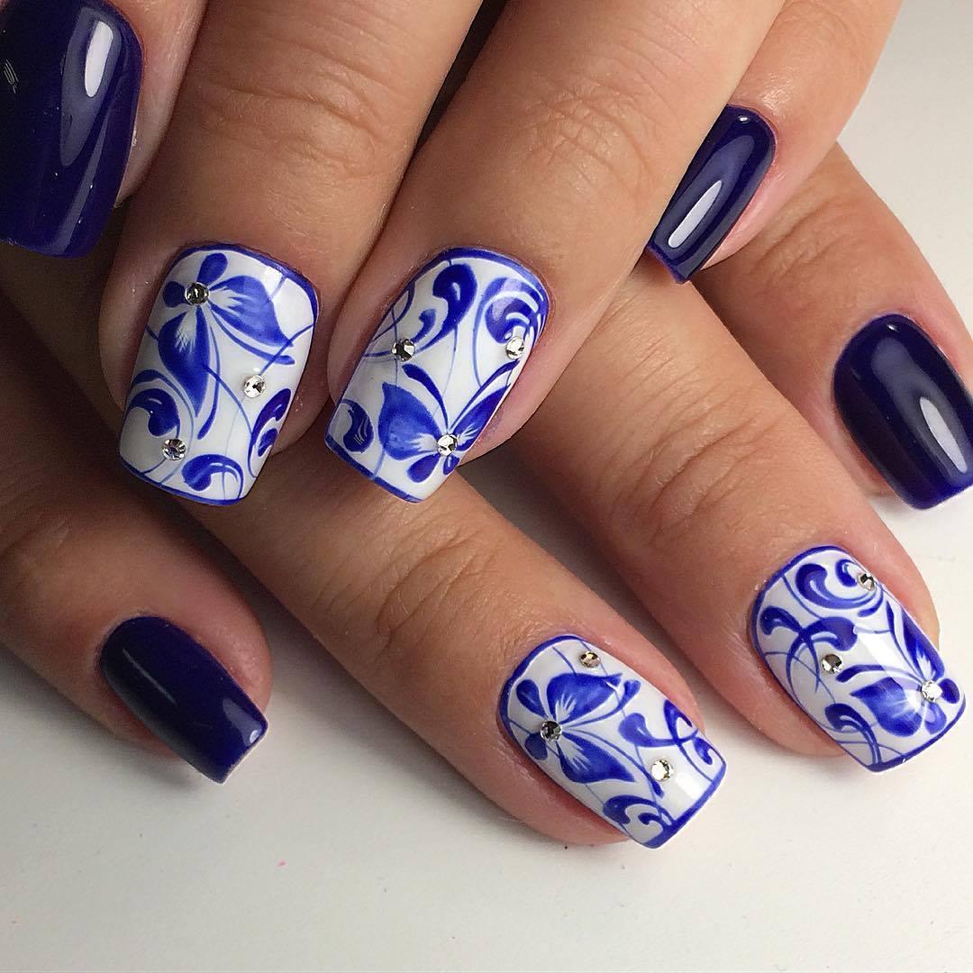 Svadba inšpirovaná krásou motýľov - svadobné nechty
