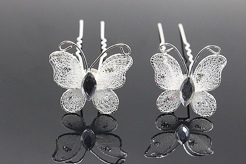 Svadba inšpirovaná krásou motýľov - vlásenky