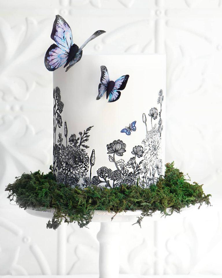 Svadba inšpirovaná krásou motýľov - Obrázok č. 138