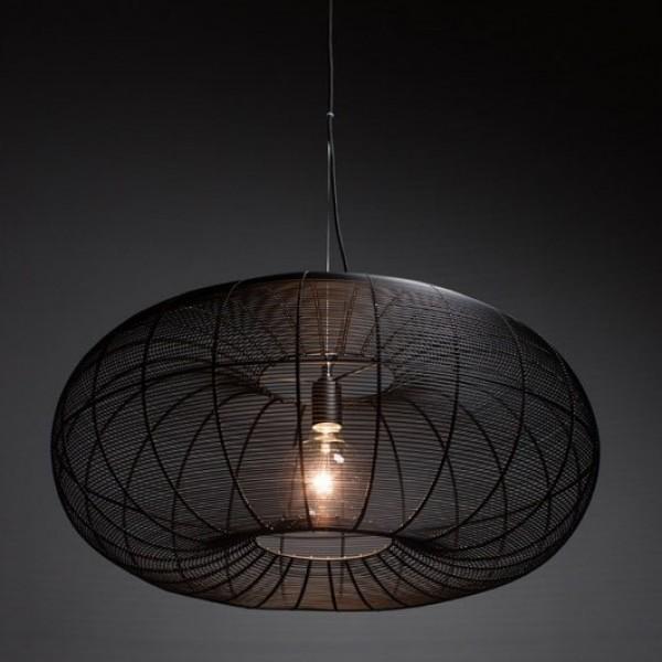 Ahoj, máte někdo toto světlo? ETH Cosmo Steel Big. Zajímalo by mě, jak prakticky vypadá, jako světlo nad jídelní stůl. Jaké dělá na stole světlo :) - Obrázek č. 3