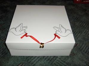 začínám vyrábět krabice na výslužku ..... krabice jsou koupené :-)