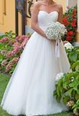 Lehké svatební šaty , 36
