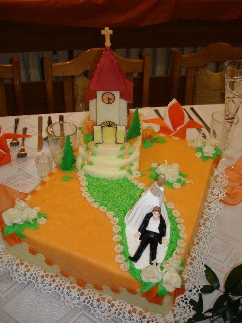 JANKA{{_AND_}}MARTIN KMECOVI - tak a to je nasa torticka c.2,takto sme si ju predstavovali a vdaka tiez tetuske za pomoc a pracu