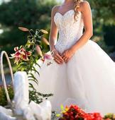 Luxusné svadobné šaty MoriLee XS,S, 34