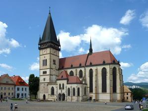 Bardejov kostol sv. Egidia