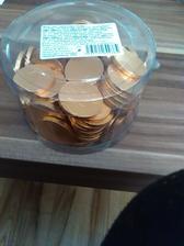 Cokoloadove peniazky na redovy tanec ;-)