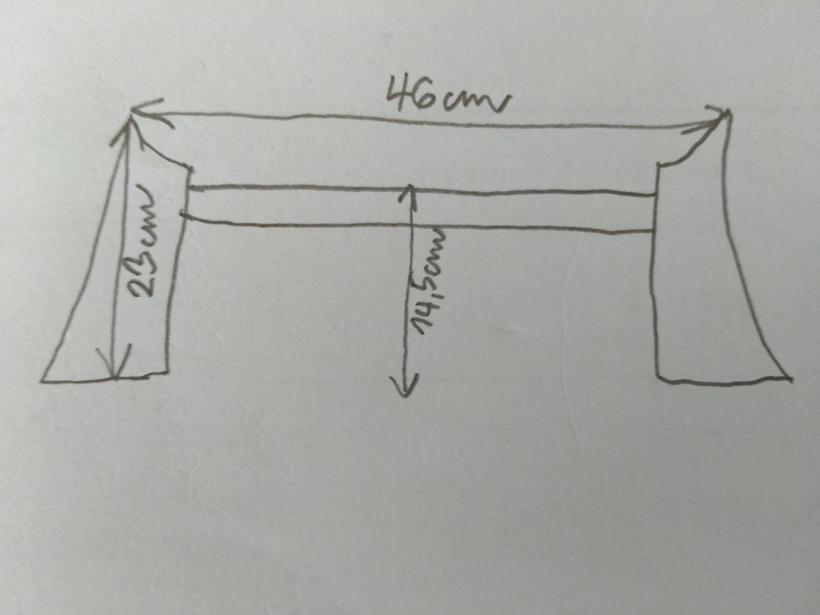 Plechové nohy na klasickú vaňu - Obrázok č. 3