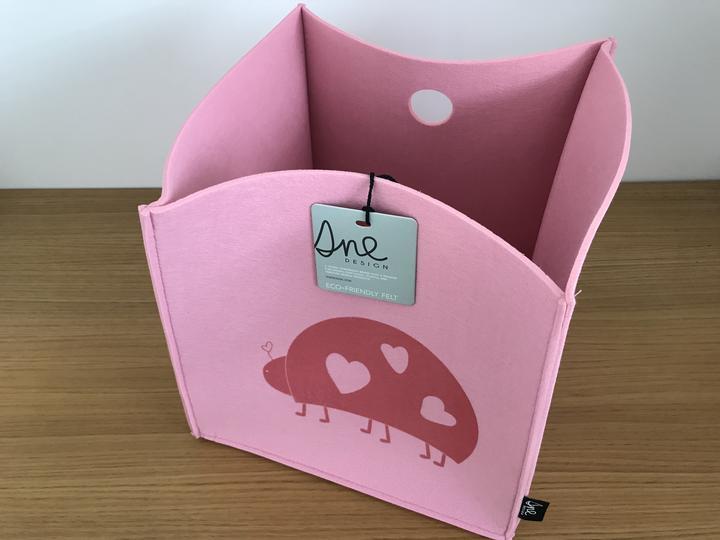 aa1d4cd34f51 Finálny výpredaj skladu - rušíme obchodík - Plstený košík na detské hračky  a vecičky SNE design. Cena 19