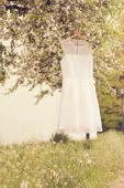svatební šaty-zkrácené, 38