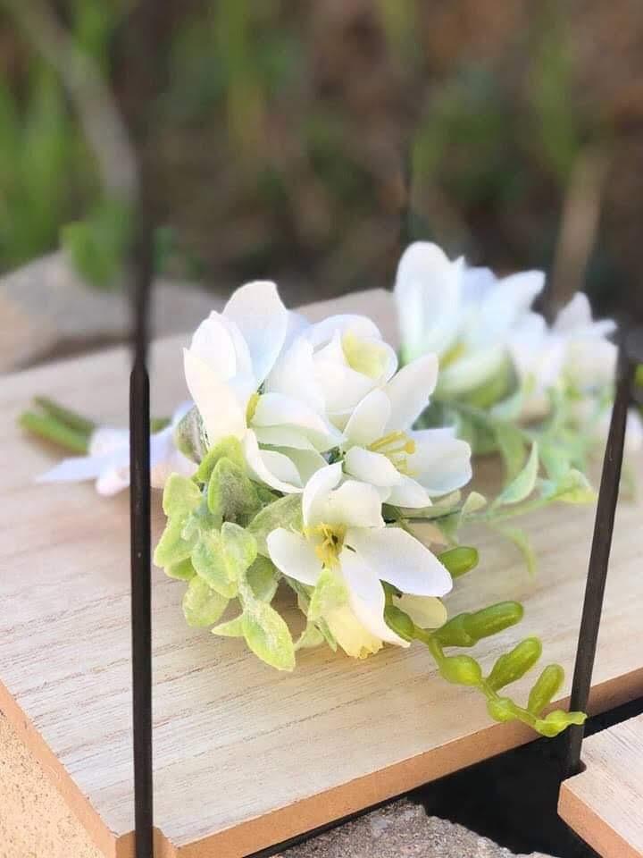 korsaž/květina na klopu ženicha - Obrázek č. 1