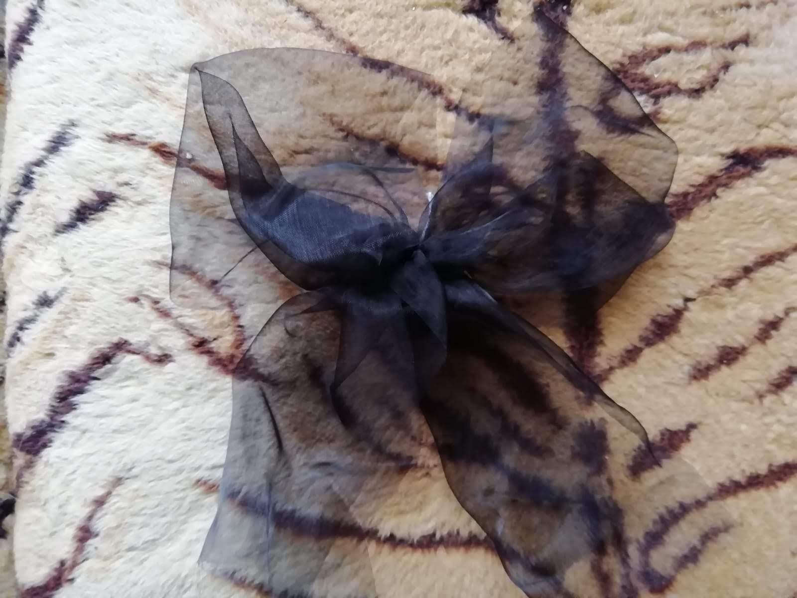 Mašle černá malá - Obrázek č. 1