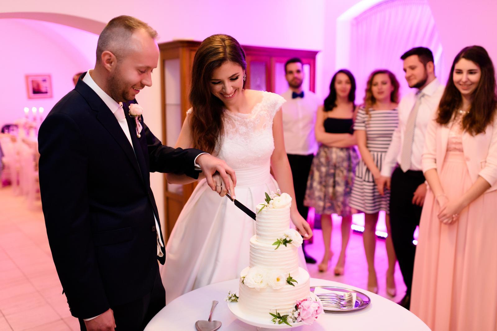 Svadobné torty - Foto: Foto Melánia - Marián Drinka. Realizácia: http://castelmierovo.sk
