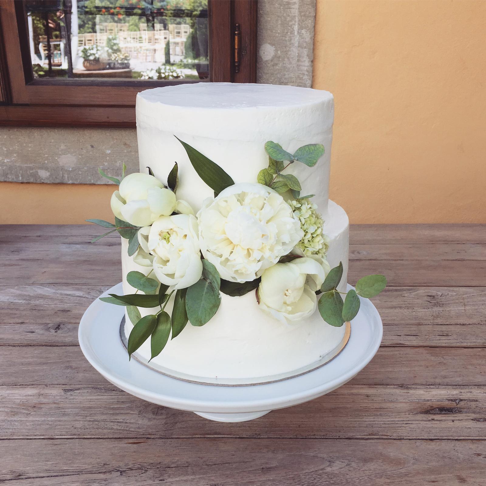 Svadobné torty - Realizácia: http://castel.sk/