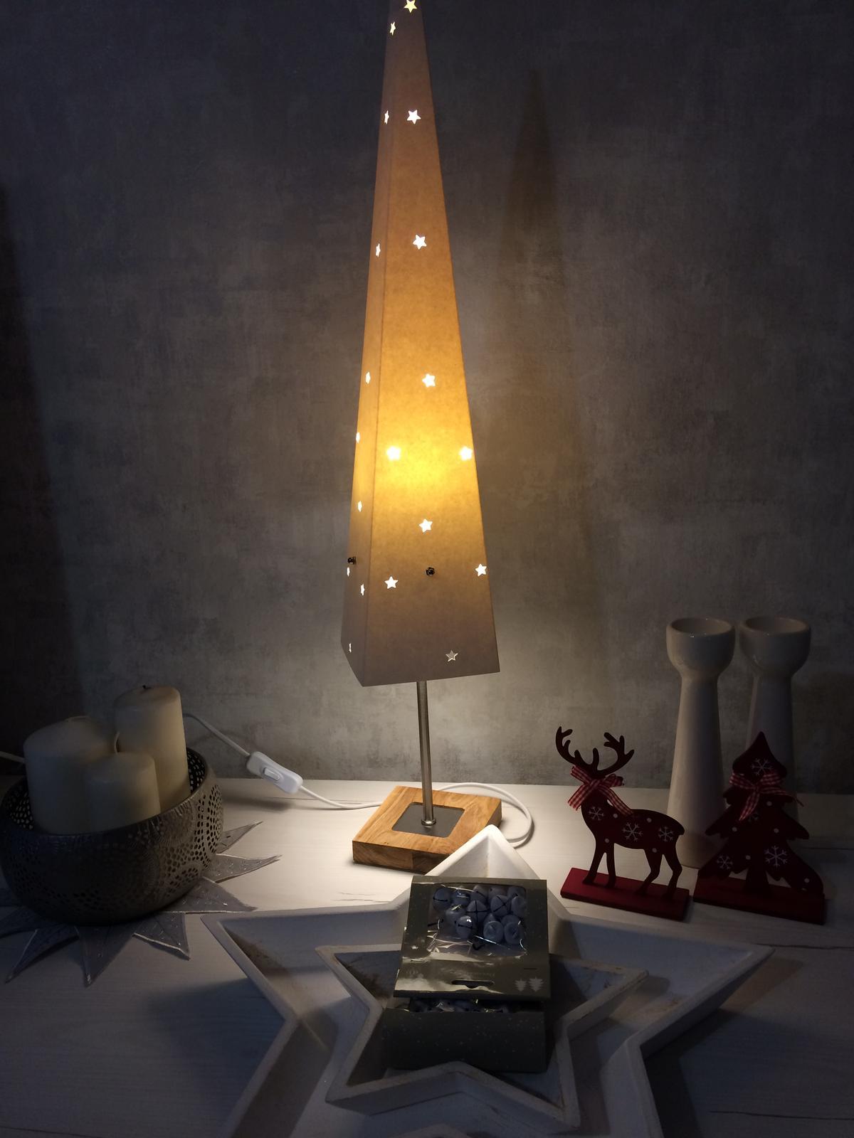 Vianočné ozdoby - papierový stromček