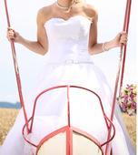 Svatební šaty vel. 34 - 36 - 38, 36