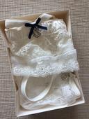 Sada - svatební kalhotky a podvazek Intimissimi, S