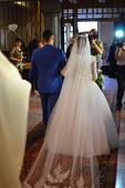 Svadobné šaty ako pre popolúšku, 38