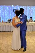 Svadobné biele (šampaň) šaty, 37