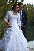Princeznovské svatební šaty Nikita, 36