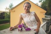 KRAJKOVÉ SVATEBNÍ ŠATY S KAPSAMI, 36
