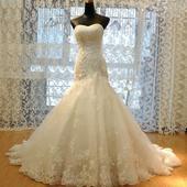 Svatební šaty vel 42, 42