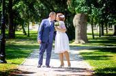 Kratke svadobne saty, 44