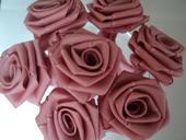 Růžičky - starorůžová - ručně sešívané,