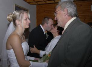 požehnání rodičů nevěsty