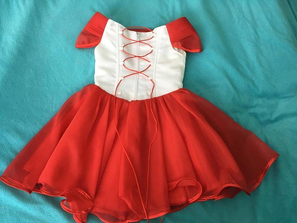 Dievčenské šaty so šnurovačkou - Obrázok č. 2