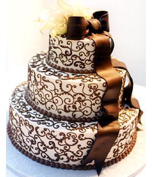 Slavka & Nick - nas wedding cake